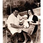 Familienglück: Willi, Hubert und Anna